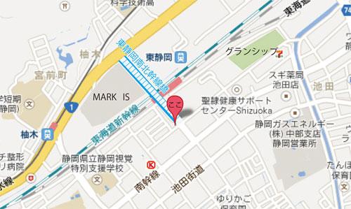 東静岡駅周辺地図